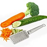 Yoheer(TM) Micro Blade Cheese Grater, Ginger Grater & Lemon Zester, Full Stainless Steel handle, Suitable for Carrot,Hard Cheese and Orther Vegetables & Fruits.