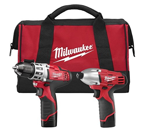 New-Tool-Milwaukee-2494-22-Combo-DrillImpact-Kit