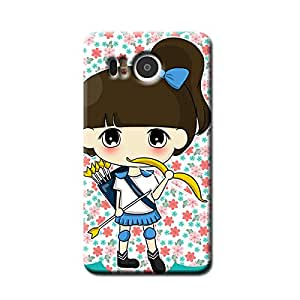 GIRL WITH A BOW BACK COVER FOR GOOGLE NEXUS 5X