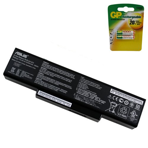 Powerwarehouse Asus K72JR Laptop Battery - Genuine Asus Battery 6 Cell