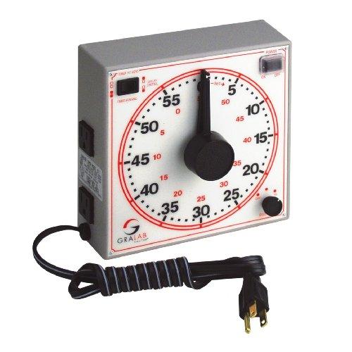 GraLab Model 171 General Purpose 60 Minute Timer