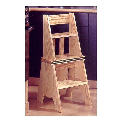 Two-In-One Seat/Step Stool: Downloadable Woodworking Plan