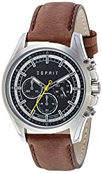 Esprit Analog Black Dial Mens Watch-ES109161003