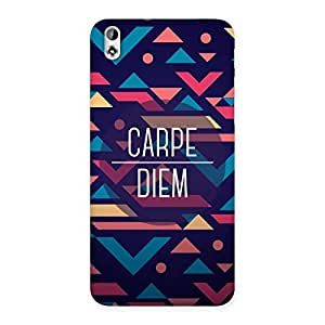 Ajay Enterprises Carpes Back Case Cover for HTC Desire 816