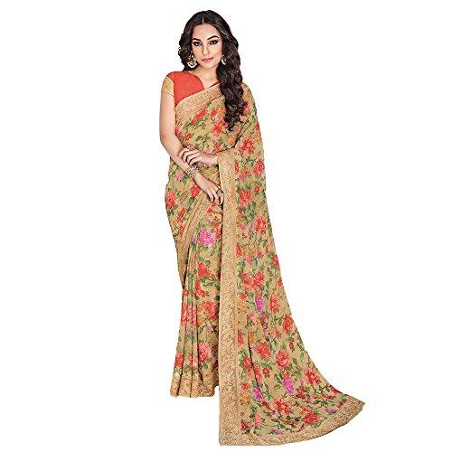 shree-designer-sarees-vestido-para-mujer-20319-brown-free-size