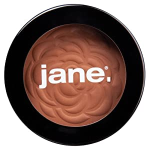 Jane Cosmetics Matte Bronzing Powder, Empower, Deep, 0.35 Ounce