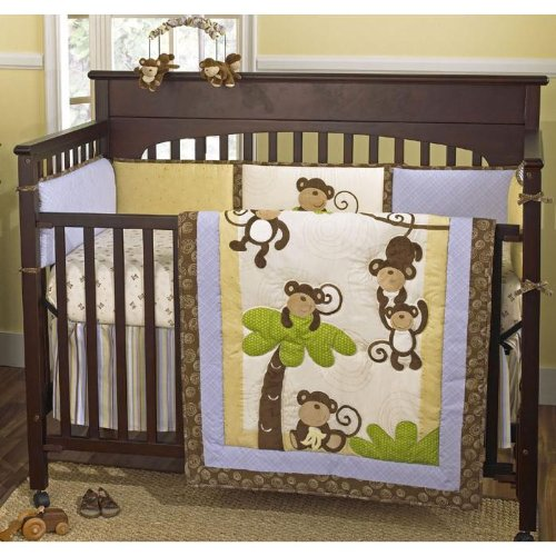 Monkey Time 4 Piece Set