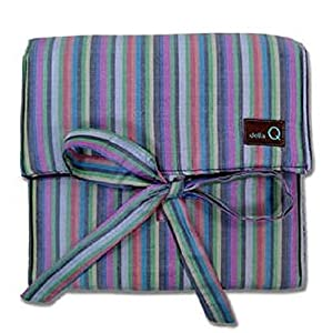 Della Q The Q Lily Circular Knitting Needle Case Purple #155-1