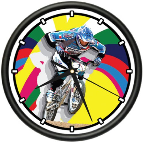BMX Wall Clock bike freestyle parts frame rims gift