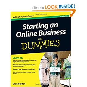 bol.com | Starting an Online Business for Dummies, Melissa ...