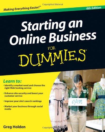 Starting an Online Business For Dummies (For Dummies (Computer/Tech))