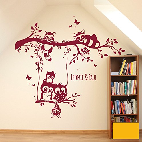 graz-design-adhesivo-decorativo-para-pared-buhos-ahuyentar-sobre-rama-rama-buho-wandtat-adhesivo-con