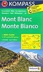 Mont-Blanc carte de randonn�e 1:50.00...