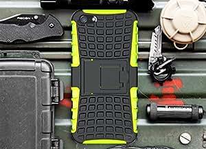 iPhone 5C Case, Cocomii® [HEAVY DUTY] Grenade Case **NEW** [ULTRA TITAN ARMOR] Premium Built-in Kickstand Bumper Case [MILITARY DEFENDER] Full-body Rugged Dual Layer Hybrid Cover (Green) ★★★★★