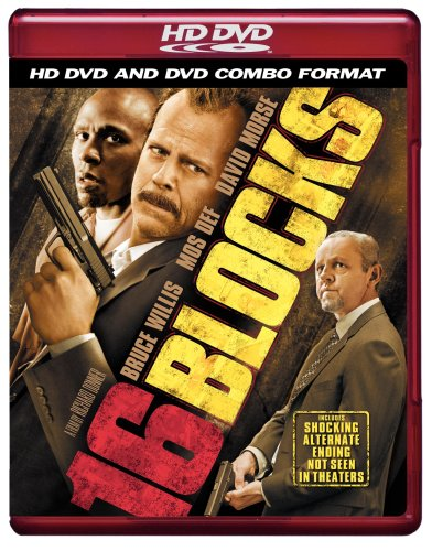 Cover art for  16 Blocks (Combo HD DVD and Standard DVD)
