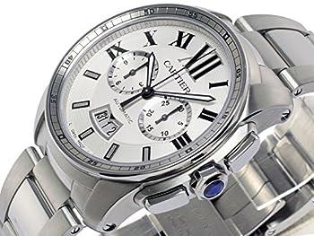 (カルティエ) CARTIER 腕時計 カリブル ドゥ カルティエ クロノグラフ W7100045 シルバー メンズ [並行輸入品]