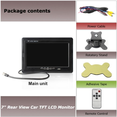 7 inch TFT LCD Digital