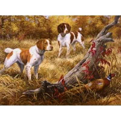 Cheap SunsOut Brittany 1000pc Jigsaw Puzzle by Linda Picken (B005FYG7F8)