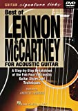 The Best Of Lennon And McCartney For Acoustic Guitar [2001] [DVD]