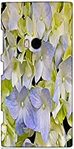 Snoogg Wildflowers Background Designer Protective Back Case Cover For Nokia L...