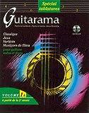 echange, troc KHALIFA & JANIA GUILLEM - Partition : Guitarama volume 1A (édition Tablatures) + CD