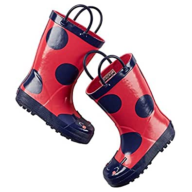 Amazon.com: Carter's Girls Rain Boots (Toddler/Little Kid