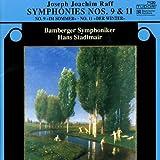 Raff - Symphonies Nos 9 and 11by Joachim Raff
