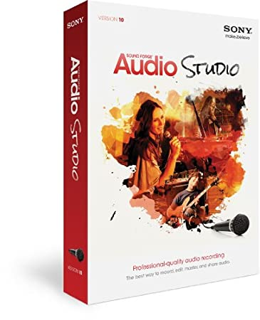 Sound Forge Audio Studio 10 - 2012