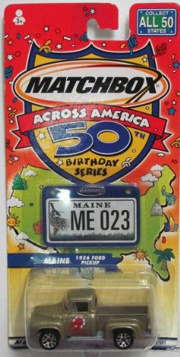 Matchbox Across America 50th Birthday Series MAINE ME023