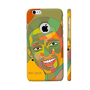 Colorpur Will Smith Painting In Multicolor Designer Mobile Phone Case Back Cover For Apple iPhone 6 / 6s with hole for logo | Artist: Designer Chennai