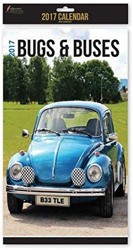 2017 Nostalgia VW Bugs & Buses Midi Calendar