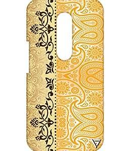 Vogueshell Ethnic Pattern Printed Symmetry PRO Series Hard Back Case for Motorola Moto G4