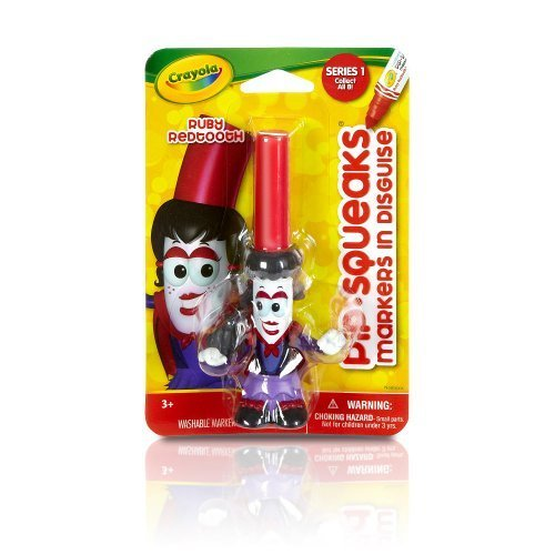 Crayola Pip-squeaks Ruby Redtooth in Disguise Marker - 1