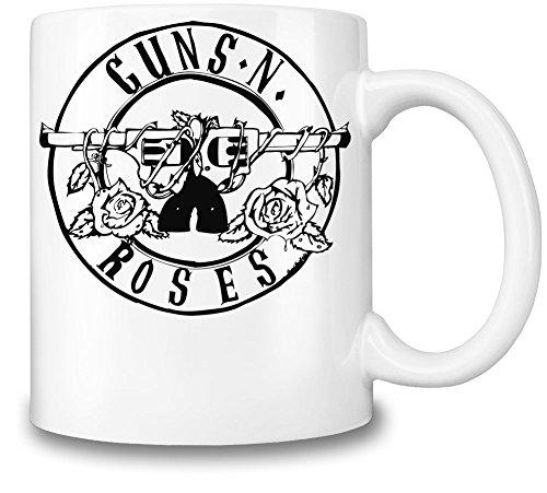 Guns N Roses Black Logo Tazza Coffee Mug Ceramic Coffee Tea Beverage Kitchen Mugs By Genuine Fan Merchandise