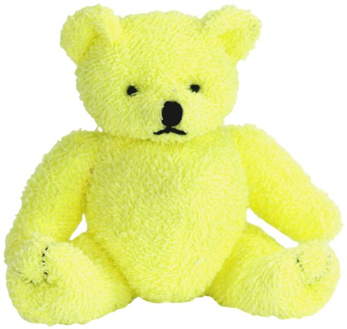 "Purr-Fection Sunny Yellow Bear 6"" Plush"