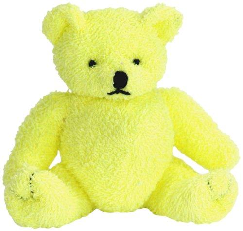 "Purr-Fection Sunny Yellow Bear 6"" Plush"