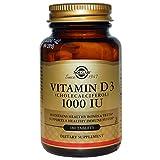 Solgar, Vitamin D3, 1000 IU, 180 Tablets