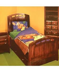 Amazon Com Disney Lion King Twin Bedding Comforter Set