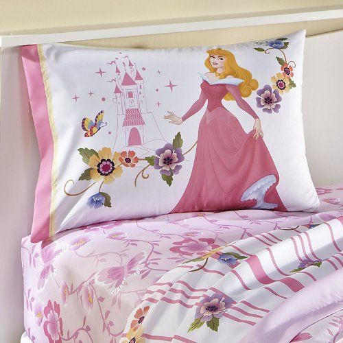 Buy Disney Princess Aurora Sleeping Beauty Pillowcase - Dream Big