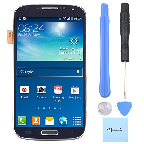 Arkete Samsung Galaxy S4 I9505 i337 M919 LCD Display Touch Screen Digitizer With Frame Assembly (Display S4 compare prices)