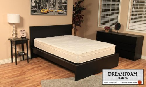 Cheap DreamFoam Bedding Ultimate Dreams Short 9-Inch Crazy Euro Top mattress, Queen