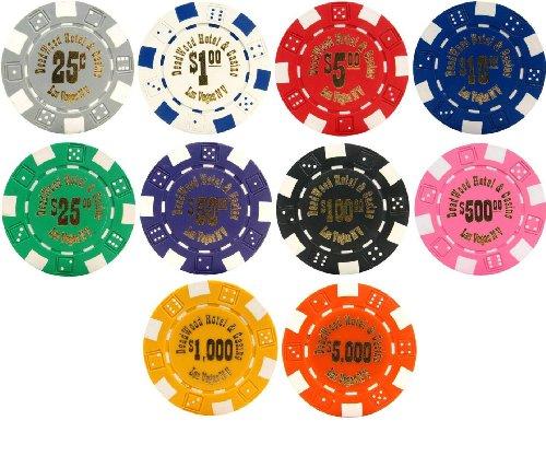 Deadwood Hotel & Casino 500 Bulk Poker Chips - Choose