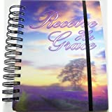 I Dimension 3 D Spiral Notebook Or Journal ~ Receive His Grace (300 Pages, Elastic Closure)