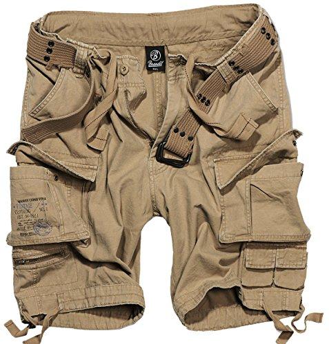 Brandit (Zannysbox Edition) -  Pantaloncini  - cargo - Uomo Beige Camel Beige