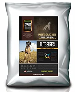SportDogFood Grain & Potato Free Large Breed Beef Formula, 50 lb