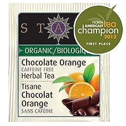 STASH TEA TEA HERBAL CHOC ORANG ORG, 18 BG