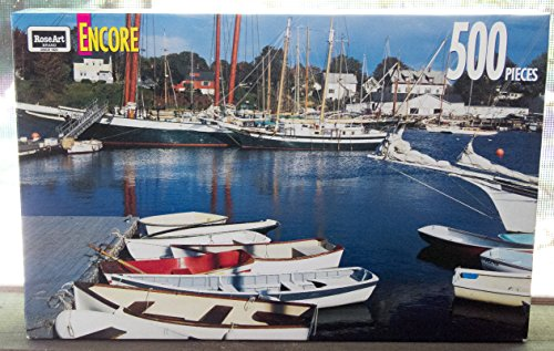 500 Piece Encore Landscape Puzzle from RoseArt (Various Scenes)