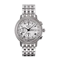 Tissot Bridgeport Chronograph Stainless Steel Mens Watch T0454271103300