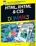 HTML, XHTML & CSS For Dummies (047023847X) by Tittel, Ed
