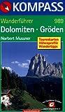 Kompass Wanderbücher, Dolomiten, Gröden (KOMPASS-Wanderführer)